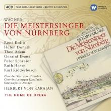 Wagner:Die Meistersinger von Nurnberg - de Rene Kollo,Helen Donath,Theo Adams,Staatskapelle Dresden,Herbert von Karajan