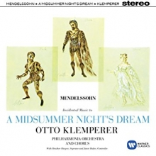 Mendelssohn:A Midsummer night\'s dream - de Otto Klemperer/Philharmonia Orchestra