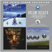 THE TRIPLE ALBUM COLLECTION - de Dream Theater