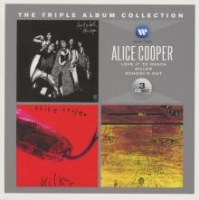 TRIPLE ALBUM COLLECTION - de Alice Cooper