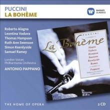 Puccini:La Boheme - de Roberto Alagna,Leontina Vaduva,Thomas Hampson/Philharmonia Orchestra/Antonio Pappano