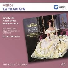 Verdi:La Traviata - de Beverly Sills,Nicolai Gedda,Rolando Panerai/Royal Philharmonic Orchestra/Aldo Ceccato