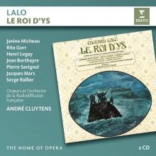 Lalo:Le roi D'Ys - de Janine Micheau,Rita Gorr,Henri Legay/Orchestre de la Radioffusion francaise/Andre Cluytens