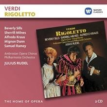Verdi:Rigoletto - de Beverly Sills,Sherrill Milnes,Alfredo Kraus,Mignon Dunn/Philharmonia Orchestra/Julius Rudel
