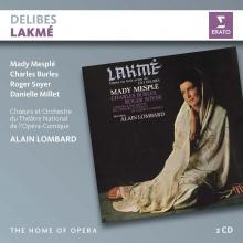 Delibes:Lakme - de Mady Mesple,Charles Burles,Roger Soyer/Orchestre du Theatre National de l'Opera-Comique/Alain Lombard
