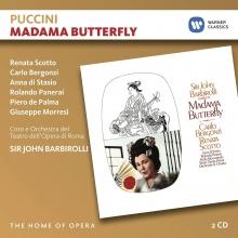 Puccini:Madama Butterfly - de Renata Scotto,Carlo Bergonzi,Anna di Stasio,Rolando Panerai/Orchestra del Teatro dell'Opera di Roma/Sir John Barbirolli
