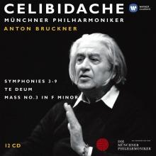 Anton Bruckner:Symphonies 3-9/Te Deum/Mass no.3 in F minor - de Sergiu Celibidache/Munchner Philharmoniker
