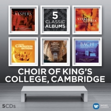 5 Classic Albums - de Choir of King's College Cambridge