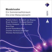 Mendelssohn:Ein Sommernachtstraum/Die erste Walpurgisnacht - de Nikolaus Harnoncourt/Arnold Schoenberg Chor