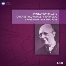 Prokofiev:Ballets-Orchestral Works-Film music - de Andre Previn-Riccardo Muti
