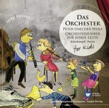 Das Orchester for kids - de Peter und der Wolf-Orchesterfuhrer fur junge leute