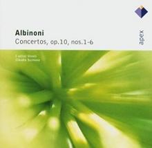 Albinoni:Concertos op.10 nos.1-6 - de Giuliano Carmigola,Claudio Scimone,Piero Toso
