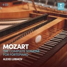 Mozart:The Complete Sonatas for Fortepiano - de Alexei Lubimov