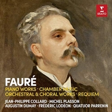 Faure:Piano Works-Chamber Music-Orchestral&Choral Works-Requiem - de Jean-Philippe Collard-Michel Plasson-Augustin Dumay-Frederic Lodeon/Quatuor Parrenin