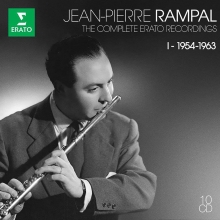 The Complete Erato Recordings I: 1954-1963 - de Jean-Pierre Rampal