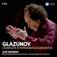 Glazunov:Complete Symphonies&Concertos - de Jose Serebrier-Royal Scottish National Orchestra-Russian National Orchestra