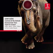 Saint-Saens:Carnival of the Animals,Septet in E-flat op.65 - de Andre-Beroff-Collard-Debost-Le Trio a Cordes Francais