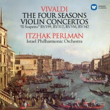 Vivaldi:The Four Seasons-Violin Concertos - de Itzak Perlman