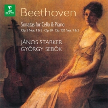 Beethoven:Sonatas for CelloΠano - de Janos Starker,Gyorgy Sebok
