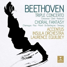 Beethoven: Triple Concerto, Choral Fantasy - de Laurence Equilbey