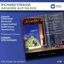 Strauss:Ariadna auf Naxos - de Elisabeth Schwarzkopf,Rita Streich,Irmgard Seefried,Rudolf Schock,Philharmonia Orchestra,Herbert von Karajan