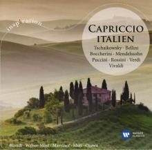 Capriccio Italien:Tschaikowsky-Bellini-Boccherini-Mendelssohn-Puccini-Rossini - de Biondi-Welser-Most-Marriner-Muti-Ozawa