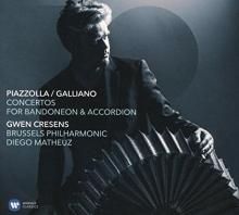 Piazzolla / Galliano - Concertos For Bandoneon & Accordion - de Gwen Cresens