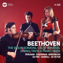Beethoven:The Violin Sonatas,Cello Sonatas,String Trios & Piano Trios - de Perlman-Zukerman-Barenboim-Du Pre-Harrell-De Peyer