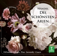 Handel:Die Schonsten Arien - de DiDonato,Genaux,Piau,Cencic,Jaroussky
