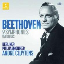 Beethoven:9 Symphonies - de Andre Cluytens/Berliner Philharmoniker