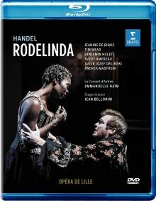 Handel:Rodelinda - de Jeanine de Bique,Tim Mead,Benjamin Hulett,Avery Amereau,Opera de Lille,Emmanuelle Haim