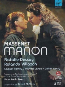 Massenet Manon - de Natalie Dessay/Rolando Villazo