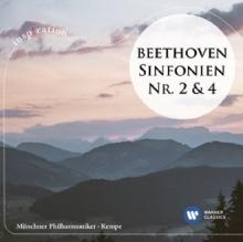 Beethoven:Sinfonien nr.2&4 - de Rudolf Kempe/Munchner Philharmoniker