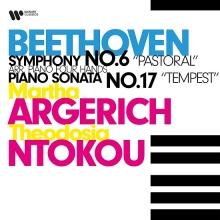 Beethoven:Symphony no.6/Piano Sonata no.17 - de Martha Argerich/Theodosia Ntokou