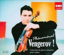 Phenomenal -Concertos & pieces virtuoses pour violin - de Vengerov