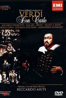 Verdi:Don Carlo - de Pavarotti,Samuel Ramey,Daniela Dessi,Franco Zeffirelli