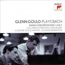 Glenn Gould plays Bach - de Piano concertos nos.1-5&7