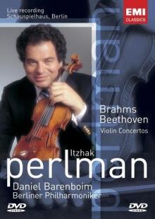 Beethoven,Brahms-Violin Concerto - de Itzhak Perlan,Daniel Barenboim,Berliner Philharmoniker