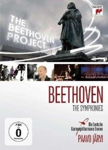 Beethoven - The Symphonies - de Paavo Jarvi,Die Deutsche Kammerphilharmonie Bremen