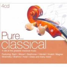 Pure...classical - de Bach,Mozart,Beethoven,Handel,Vivaldi,Wagner,Brahms etc