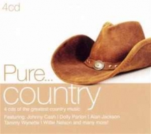 Pure...country - de Johnny Cash,Dolly Parton,Alan Jackson,Willie Nelson etc