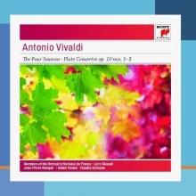 Antonio Vivaldi:The Four Seasons,Flute Concertos op.10 nos.1-3 - de Claudio Scimore,Jean-Pierre Rampal