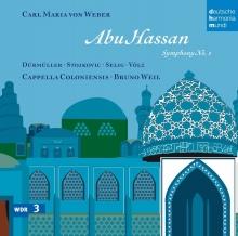 Weber:Symphony no.1 - de Abu Hassan,Cappella Colontensis des WDR,Bruno Weil