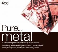 Pure...metal - de Feat.Judas Priest,Motorhead,Alice Cooper,Korn,Scorpions,Mudvayne etc