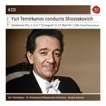 Yuri Temirkanov conducts Shostakovich - de Symphonies nos.1,5,6,7,9,13-Cello Concerto etc.