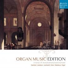 Organ Music Edition - de Bach,C.P.E Bach,Buxtehude,Handel,Ewerhart,Jacobson,Oster,Vogel