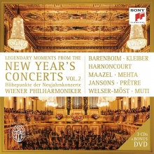 Legendary Moments from the New Year\'s Concerts  vol.2 - de Wiener Philharmoniker-Barenboim-Kleiber-Harnoncourt-Maazel-Mehta-Jansons-Mutti-Pretre-Welser-Most