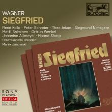 Wagner: Siegfried - de Rene Kollo,Peter Schreier,Theo Adam,Siegmund Nimsgern,Staatskapelle Dresden,Marek Janowski