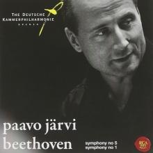 Beethoven: Symphony no.5/Symphony no.1 - de Paavo Jarvi,The Deutsche Kammerphilharmonie Bremen