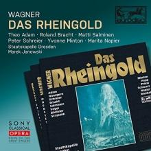 Wagner:Das Rheingold - de Theo Adam,Roland Bracht,Matti Salminen,Peter Schreier,Staatskapelle Dresden,Marek Janowski-conductor